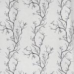 VORHANGSTOFF per lfm Verdunkelung  - Schwarz/Grau, Design, Textil (150cm) - Esposa