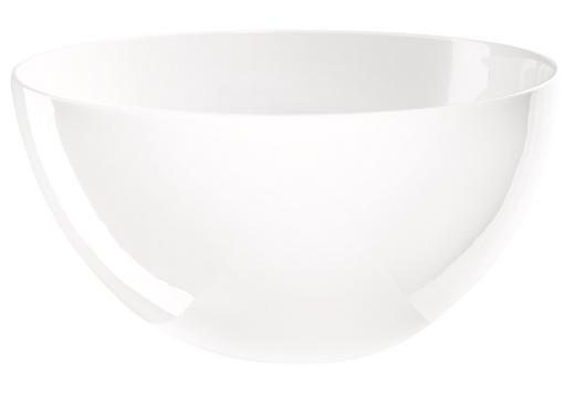 SCHÜSSEL Keramik Fine Bone China - Weiß, Basics, Keramik (25/12,5cm) - ASA