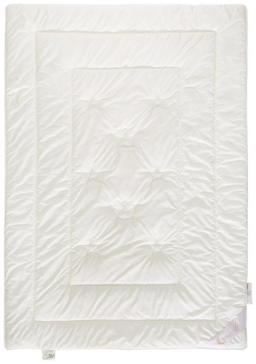 GANZJAHRESDECKE 140/200 cm - Creme, Basics, Weitere Naturmaterialien (140/200cm) - Schlafmond