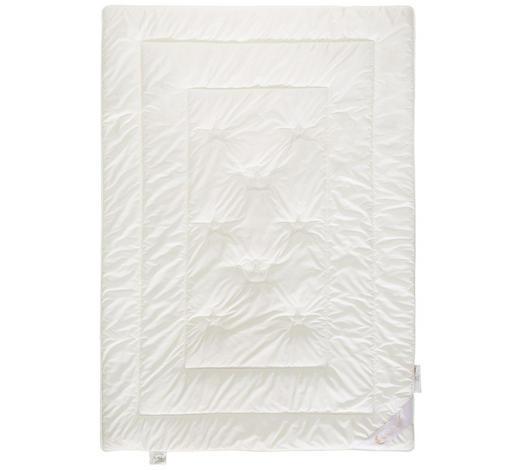 PŘIKRÝVKA CELOROČNÍ, 140/200 cm, fleece (flís) - krémová, Basics, přírodní materiály (140/200cm)