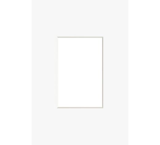PASSEPARTOUT  Weiß  - Weiß, Basics, Papier (30/40cm) - Nielsen
