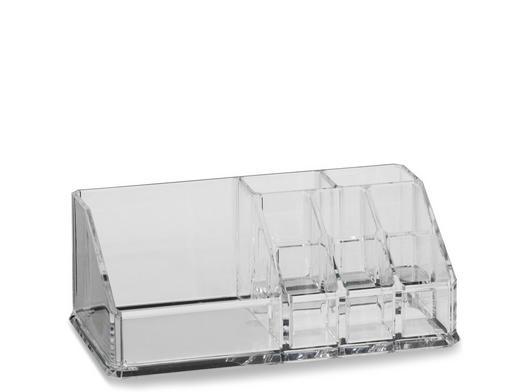 AUFBEWAHRUNGSBOX - Transparent, Basics, Kunststoff (17,5/9,5/6,5cm)