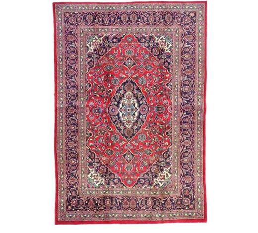 KOBEREC ORIENTÁLNÍ, 300/400 cm, modrá, krémová, červená - modrá/krémová, Lifestyle, textil (300/400cm) - Esposa