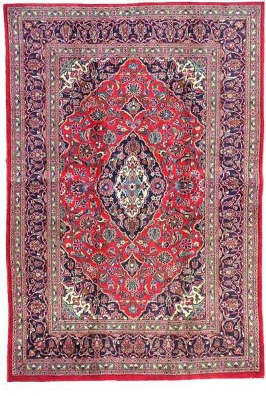 ORIENTTEPPICH 250/350 cm - Blau/Rot, LIFESTYLE, Textil (250/350cm) - Esposa