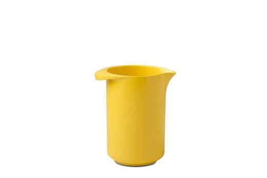 RÜHRSCHÜSSEL - Gelb, Design, Kunststoff (14/10,5/16cm) - Mepal Rosti