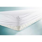 MATRATZENSCHONER  120/200 cm - Weiß, Basics, Textil (120/200cm) - Sleeptex