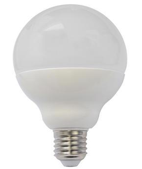 LED - vit, Basics, glas (12,7cm) - Homeware