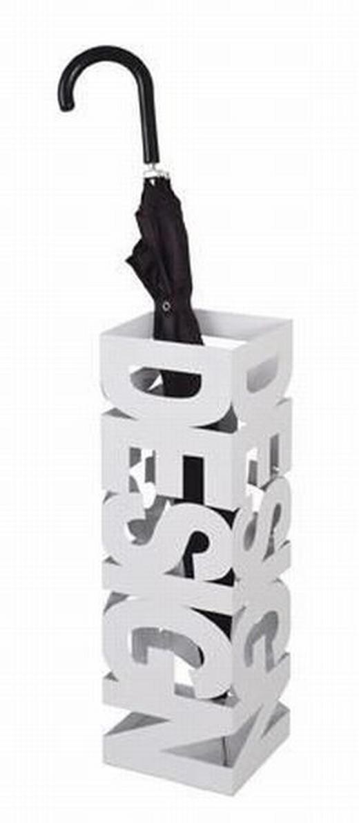 STALAK ZA KIŠOBRANE - bijela, Design, metal (52/36/36cm) - BOXXX
