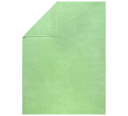 DECKE 150/200 cm - Grün, Basics, Textil (150/200cm) - Boxxx