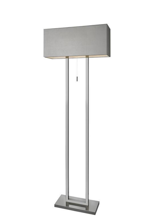 STEHLEUCHTE - Hellbraun, Design, Leder/Metall (60/25cm) - Villeroy & Boch