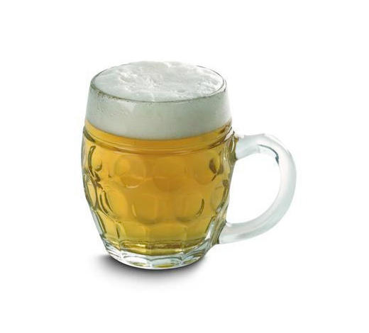 Bierkrug - Transparent, Basics, Glas (14,5/10/12cm) - Homeware