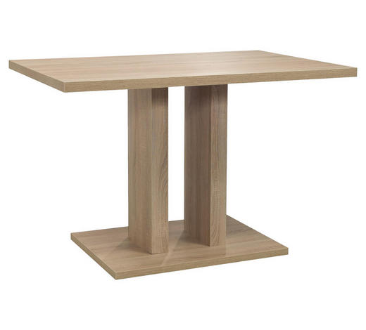 JEDILNA MIZA, hrast  - hrast, Natur, leseni material (120/80/77cm) - Cantus