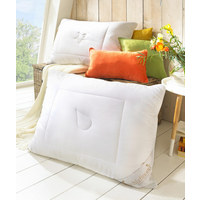 POLSTER 90/70 cm - Weiß, Basics, Textil (90/70cm) - Schlafmond