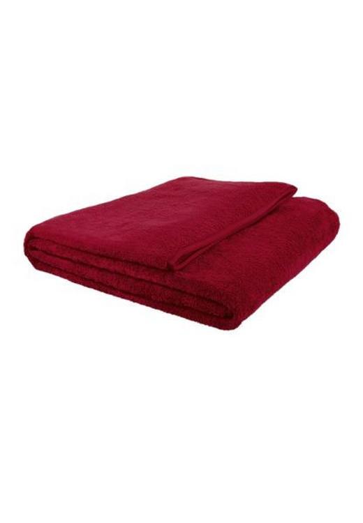 WOHNDECKE 150/200 cm Dunkelrot - Dunkelrot, Basics, Textil (150/200cm) - S. OLIVER