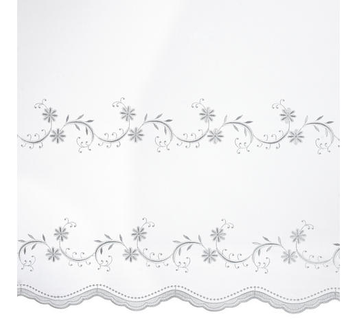 ZÁCLONA S VÝŠIVKOU, 280 cm - bílá, Konvenční, textil (280cm) - Esposa