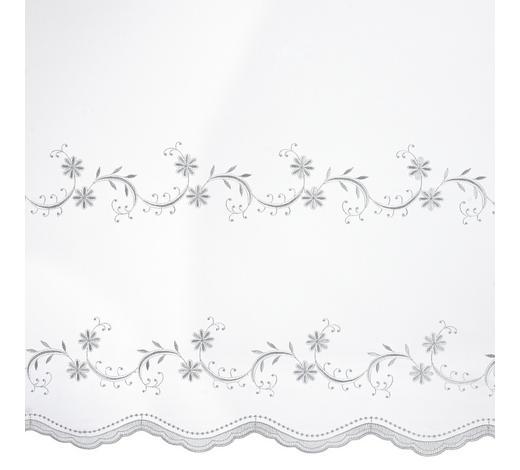 ZÁCLONA S VÝŠIVKOU  (běžný metr) - bílá, Konvenční, textilie (175cm) - Esposa