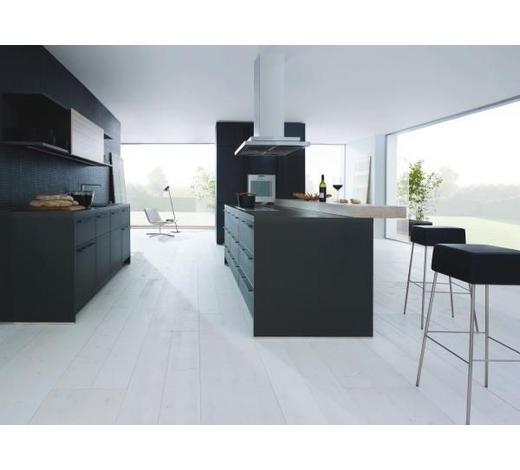 EINBAUKÜCHE - Schwarz, Design, Holzwerkstoff - Next 125