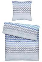 BETTWÄSCHE Biber Blau 135/200 cm - Blau, Design, Textil (135/200cm) - Novel