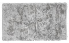 BADEMATTE  Silberfarben  70/120 cm     - Silberfarben, Design, Kunststoff/Textil (70/120cm) - Esposa