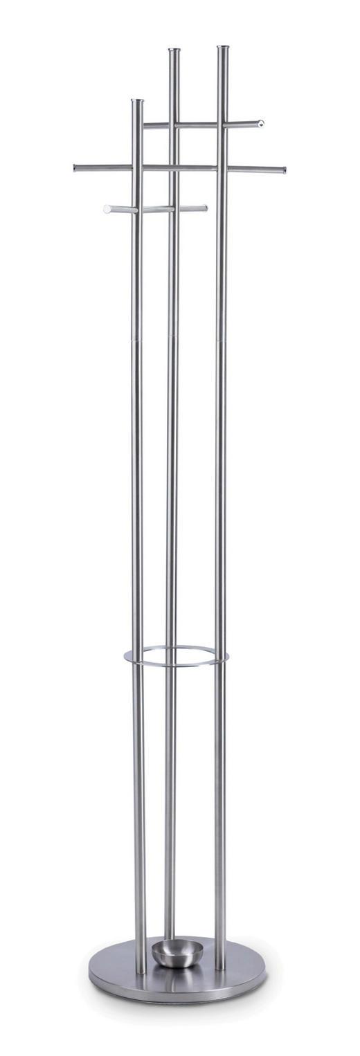 KLEIDERSTÄNDER Edelstahlfarben - Edelstahlfarben, Design, Metall (35/175/35cm)