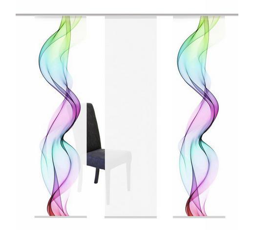 FLÄCHENVORHANG in Multicolor - Multicolor, Design, Textil (60/245cm)