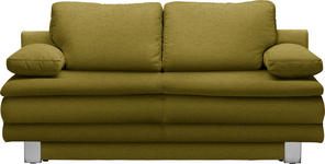 SCHLAFSOFA in Textil  - Chromfarben, Design, Textil/Metall (194/96/86cm) - Novel