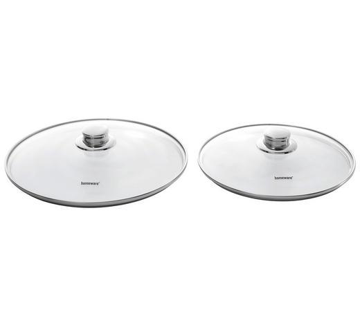 DECKEL - Klar, Basics, Glas/Metall (24cm) - Homeware Profession.