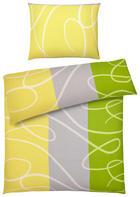 BETTWÄSCHE 140/200 cm - Hellgelb/Grün, Design, Textil (140/200cm) - BOXXX