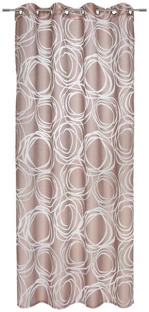 ÖLJETTLÄNGD - mullvadsfärgad/gråbrun, Klassisk, textil (140/245cm) - Esposa