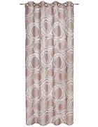 ÖSENVORHANG halbtransparent  - Taupe, KONVENTIONELL, Textil (140/245cm) - Esposa