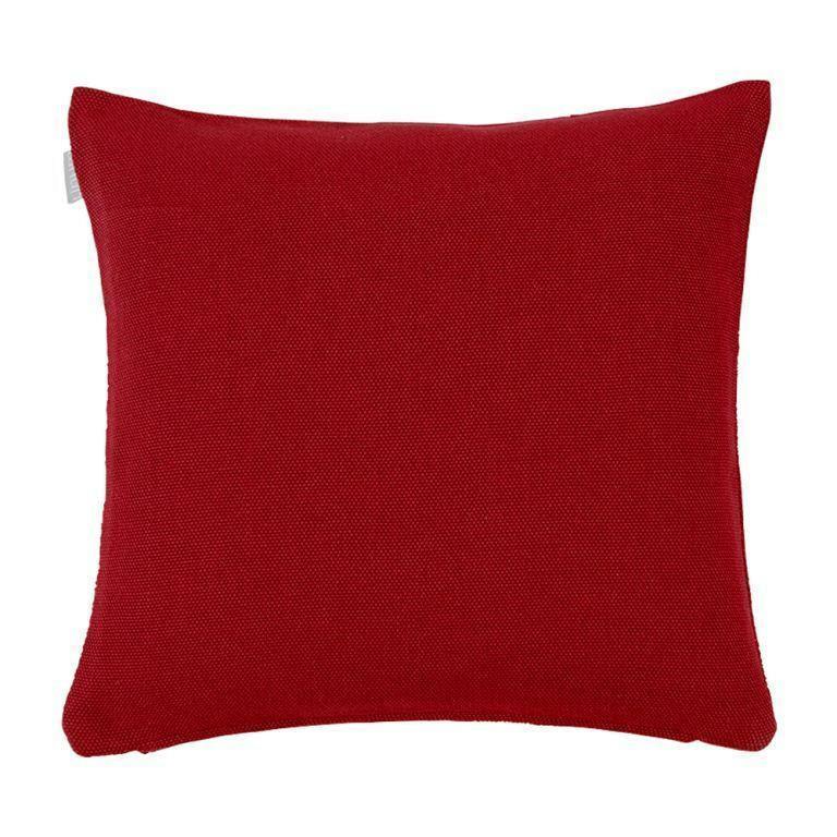 ZIERKISSEN - Bordeaux, Textil (60/60/4cm) - LINUM