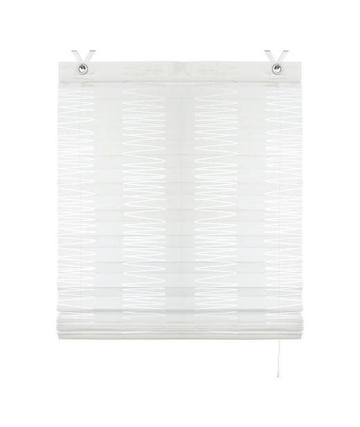PLISSEE   45/140 cm - Weiß, Basics, Textil (45/140cm) - Esposa