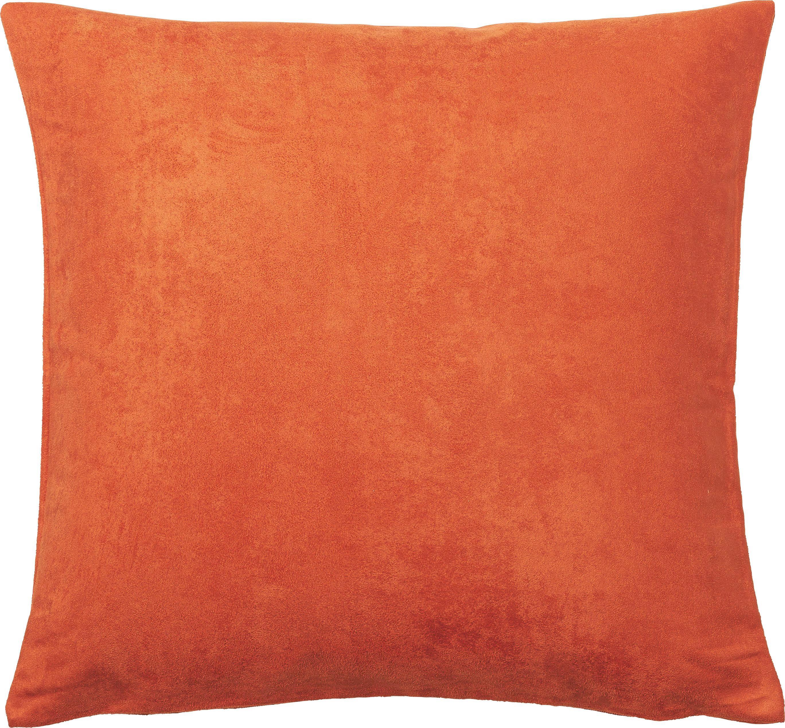 KISSENHÜLLE 40/40 cm - Orange, Basics, Textil (40/40cm) - NOVEL