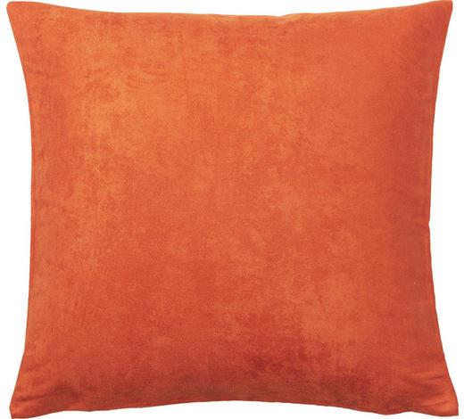 KISSENHÜLLE - Orange, Basics, Textil (40/40cm) - Novel