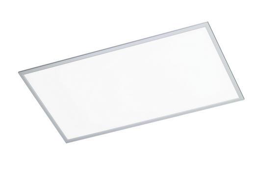 LED-DECKENLEUCHTE - Silberfarben, Design, Metall (120/5,5/60cm)