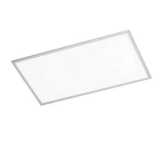 LED-PANEEL - Silberfarben, Design, Metall (120/5,5/60cm)
