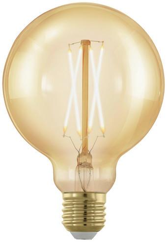 LED-Leuchtmittel E27 - Klar, Basics, Glas (13,6cm)