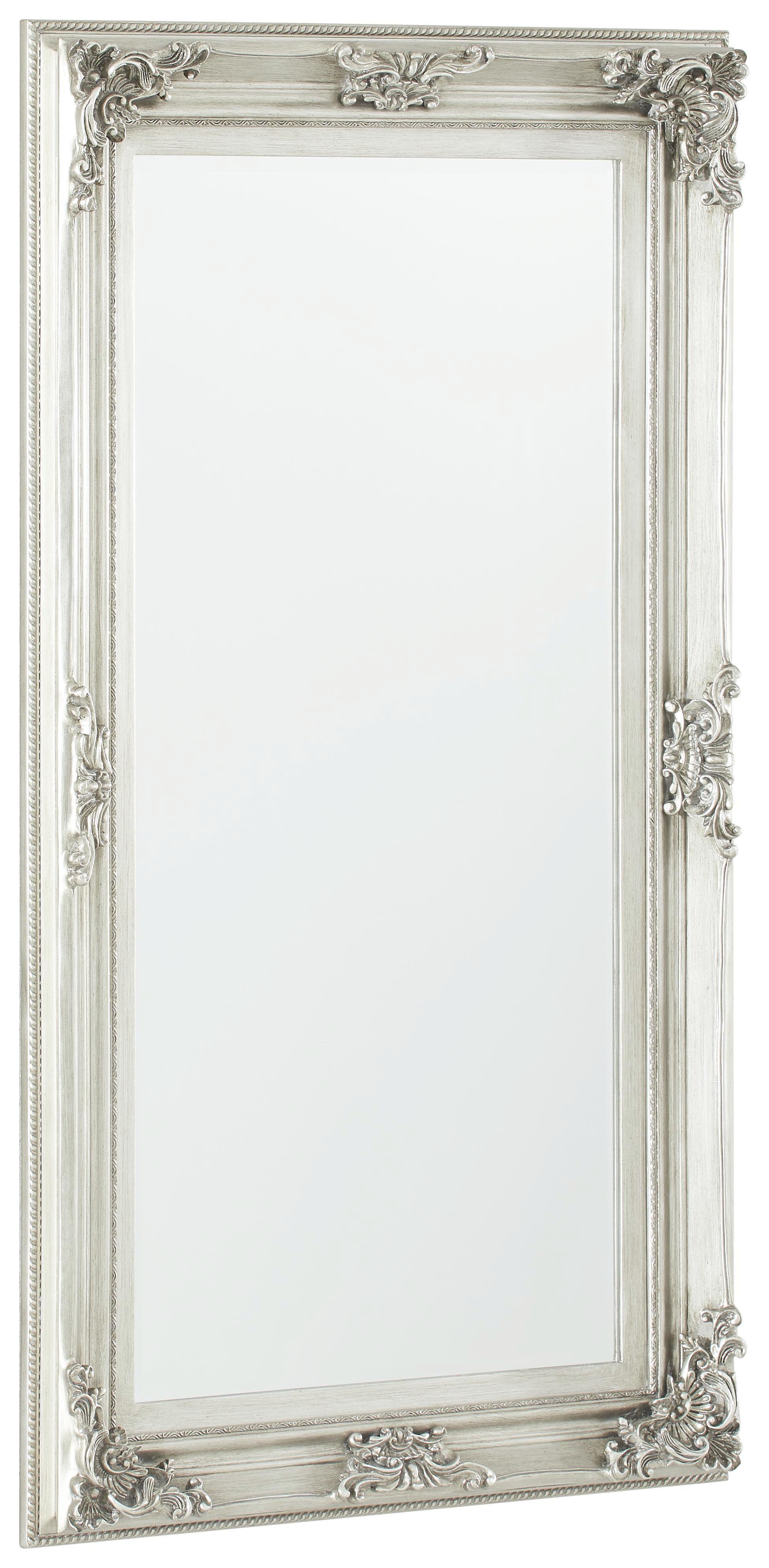 SPIEGEL Silberfarben - Silberfarben, LIFESTYLE, Glas/Holzwerkstoff (85/148/7,2cm) - XORA