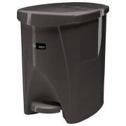 TRETEIMER Kunststoff - Schwarz/Grau, Basics, Kunststoff (6l)