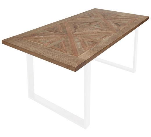 DESKA STOLU, mangové dřevo - světle hnědá, Trend, dřevo (200/100/3,8cm) - Valdera