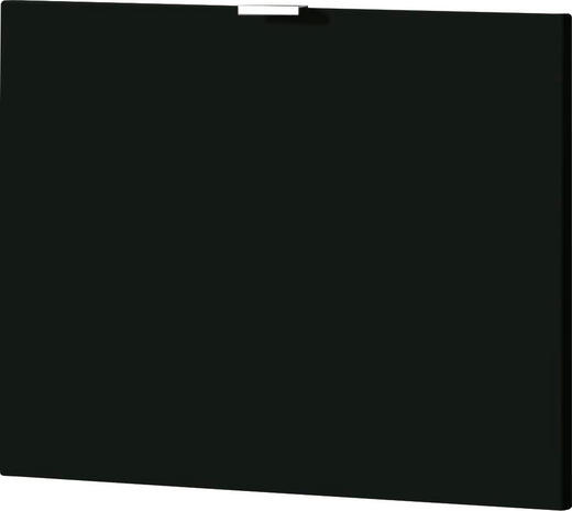 KLAPPE 52/42/2 cm Schwarz - Schwarz, Design (52/42/2cm) - Xora