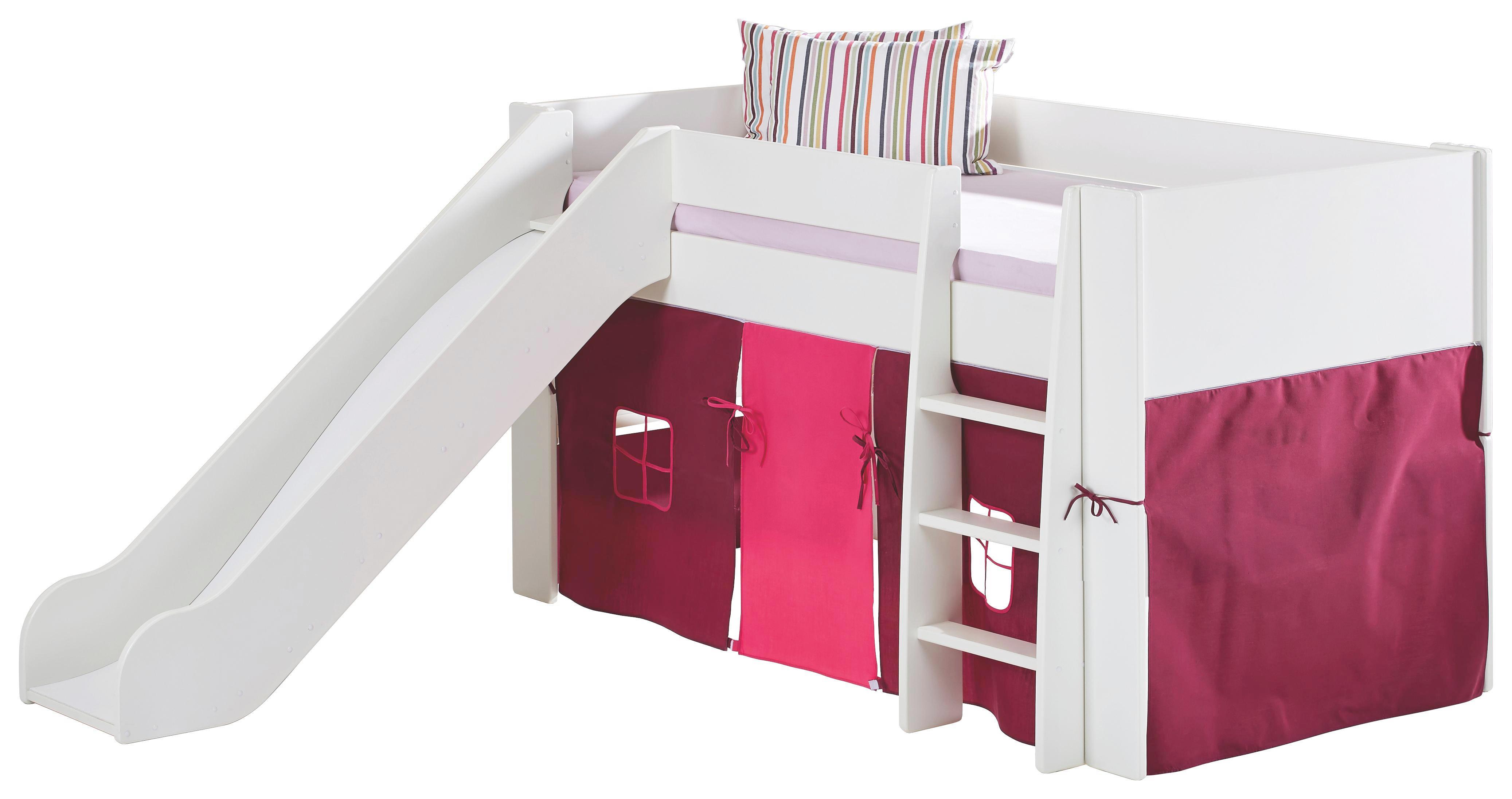 SPIELBETT Weiß - Weiß, Design, Holz (206/113/254cm) - CARRYHOME