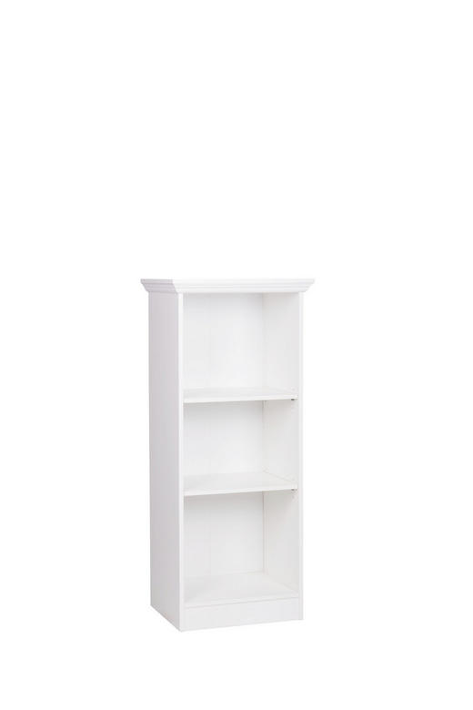 REGAL Melamin Weiß - Weiß, LIFESTYLE, Holzwerkstoff (42/116/38cm) - Carryhome