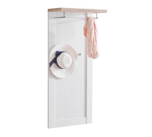 ŠATNÍ PANEL, bílá, barvy dubu,  - bílá/barvy dubu, Lifestyle, kompozitní dřevo (60/132/30cm) - Xora
