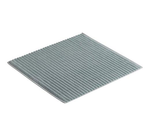 BADEMATTE in Hellblau 60/60 cm  - Hellblau, Basics, Textil (60/60cm) - Vossen