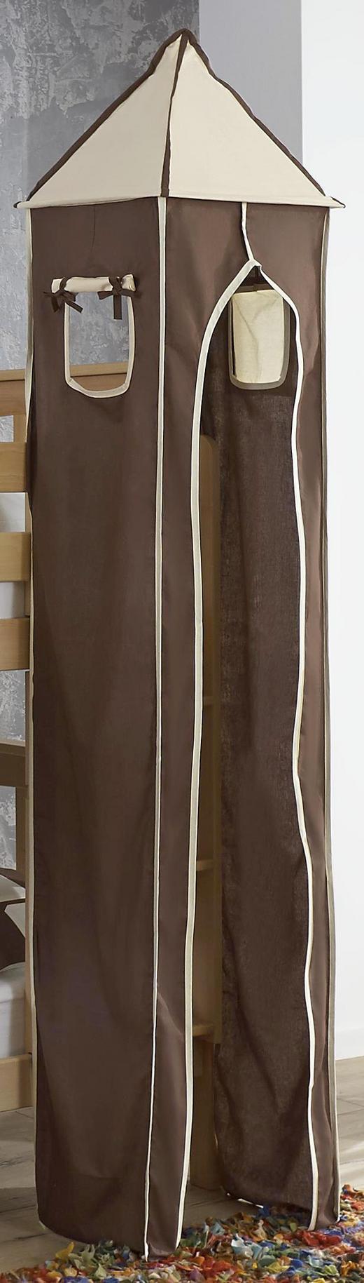 TURMSET Beige, Braun - Beige/Braun, Design, Textil (40/235/40cm)