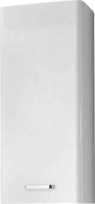 HÄNGESCHRANK Weiß - Chromfarben/Weiß, KONVENTIONELL, Holzwerkstoff/Metall (30/70/20cm) - Xora