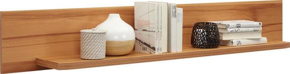 WANDBOARD in 160/25/22 cm Buchefarben - Buchefarben, KONVENTIONELL, Holz (160/25/22cm) - Voleo