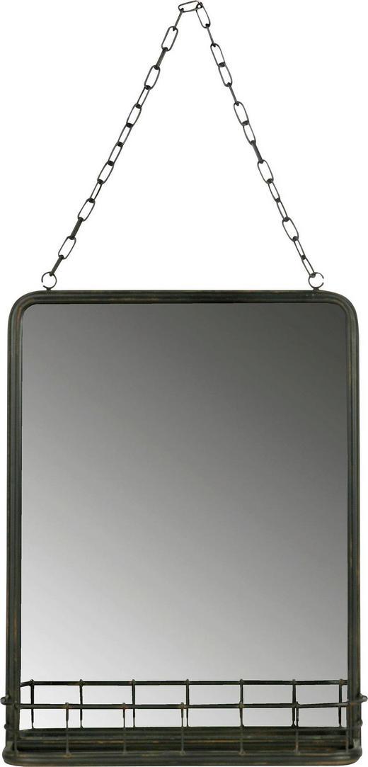 SPIEGEL Schwarz - Schwarz, Design, Glas/Metall (35/46,5/10cm) - Ambia Home