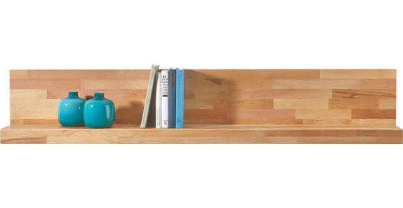 WANDBOARD in 150/27/21,8 cm Buchefarben - Buchefarben, Natur, Holz (150/27/21,8cm) - Hom`in